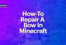 How to Repair a Bow in Minecraft?
